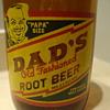 DAD'S HALF GALLON ROOT BEER BOTTLE