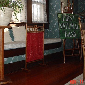Stick and Ball Oak Fireplace Screen...Before and After