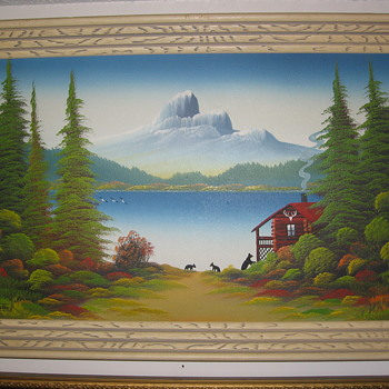 Levine Flexhaug Paintings