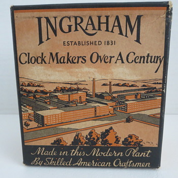 "Ingraham ""ACE"" Alarm Clock - Clocks"