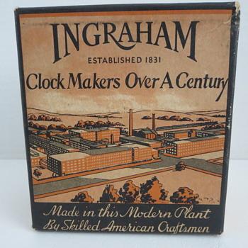 "Ingraham ""ACE"" Alarm Clock - Clocks"