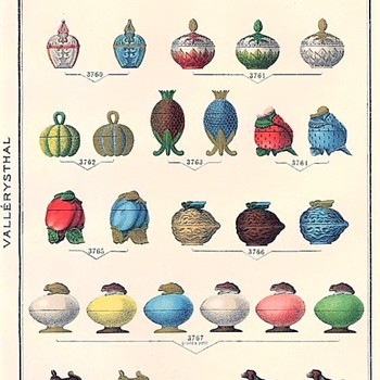 Antique Art Glass Catalog Pages - A treasure trove of undiscovered treasures - Books