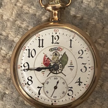 A Lincoln Illinois Watch, c1916 - Pocket Watches