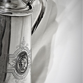 A Meriden Britannia Ice pitcher (Model #25) Circa 1867 - Silver