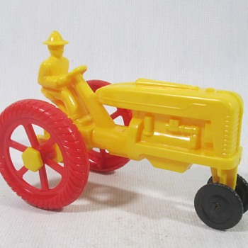 Plastic Farm Tractor  - Model Cars