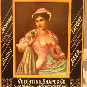 Schlitz Victorian Trade card