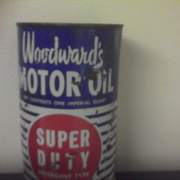Woodwards Oil Can