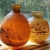 Two vases by Kurata Japan