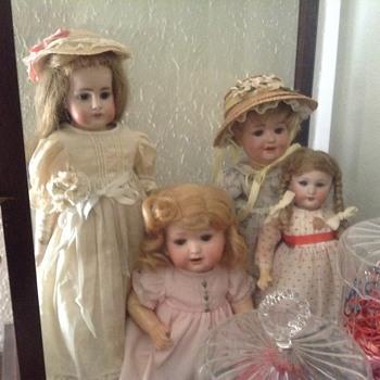 Couple dolls for Manikin - Dolls