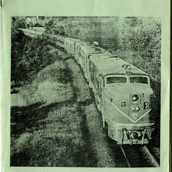 "Delaware and Hudson ""Adirondack"" pamphlet - Railroadiana"