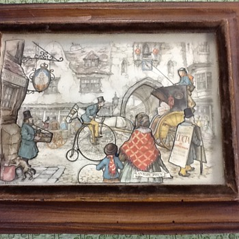 Anton Pieck Lucia Di Lammermoor - Posters and Prints