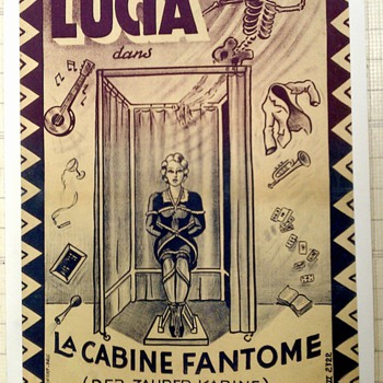 "Original ""Lucia"" Magic Poster - Posters and Prints"