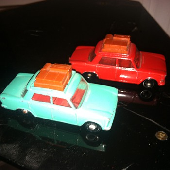 Matchbox Fiats...  One is worth much more than the other... - Model Cars