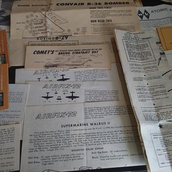 Model Kit Instructions - Model Cars