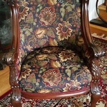 Victorian setee with 2 chairs - Furniture