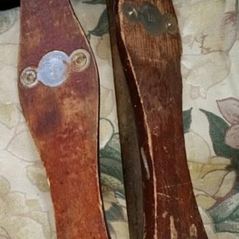 1870s? Barney & Berry Ice Skates - Sporting Goods