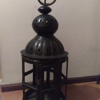 Antique industrial lantern - Lamps