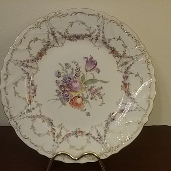 Dresden Hirsch cabinet plate - China and Dinnerware