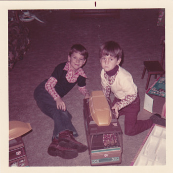 My Brother and I with Big Jim in 1972 - Toys