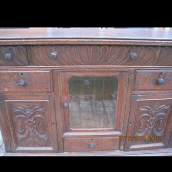 Antique sideboard mystery!  - Furniture