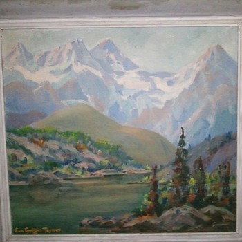 Eva Griffin Turner painting - Fine Art
