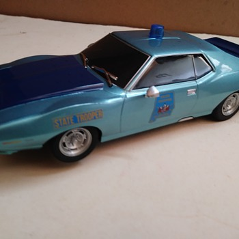 Alabama State Trooper Slot Car - Model Cars