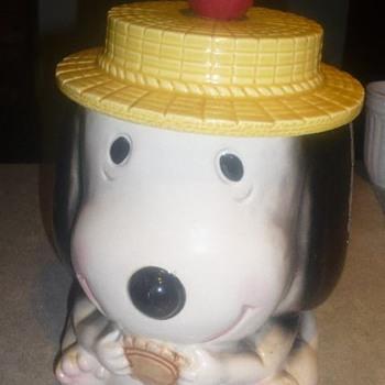 Vgt. SNOOPY Cookie Jar ?