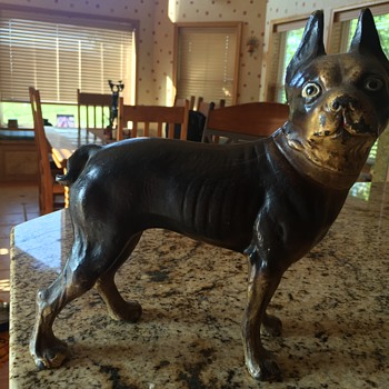 Boston terrier -  door stop - Tools and Hardware