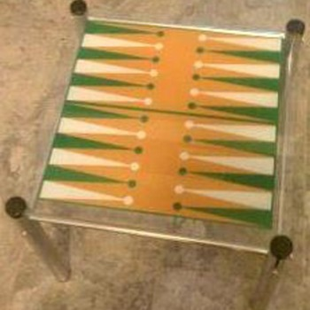 Backgammon Table - Games