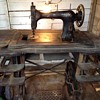 Neglected vintage White sewing machine needs indentifying