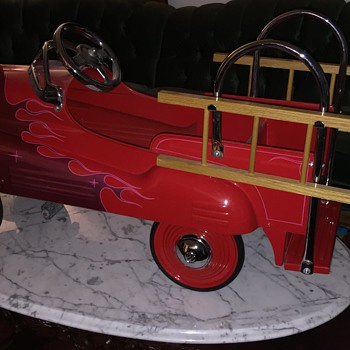 Restored/Customized 1941 Murray Fire Chief w/Flames - Toys