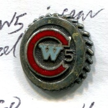 CW 5 Lapel Pin - Medals Pins and Badges