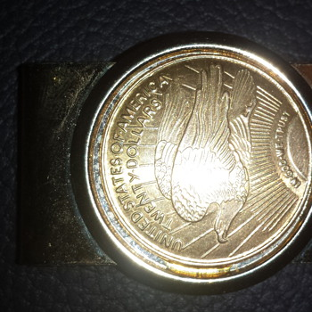 would like to know the worth of this coin and money clip