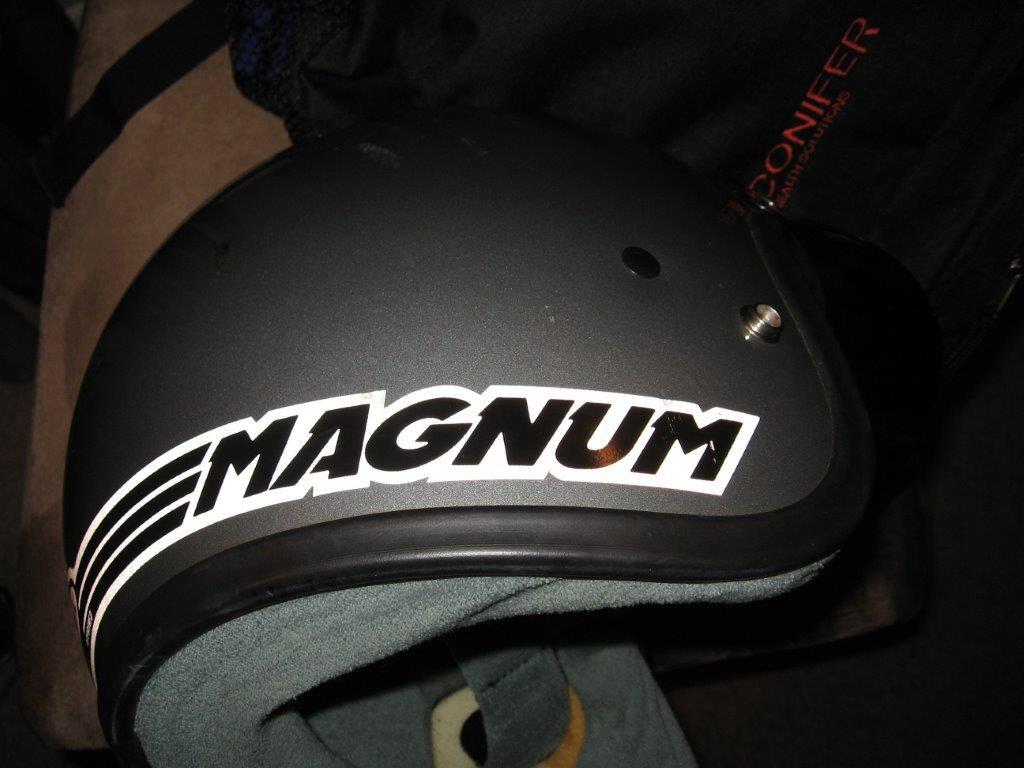 Bell Magnum Ltd 1985 Model Snell Dot Approved Shca