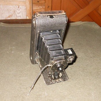 Ansco No. 1A Folding Camera Early Version 1914-1916