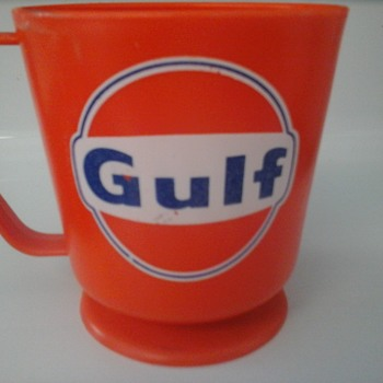 Gulf Service Station Coffee Cup