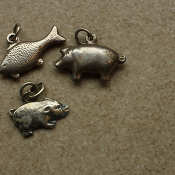 Some more silver charms - Fine Jewelry