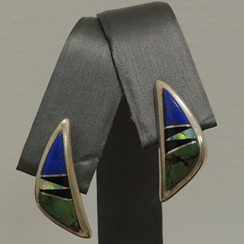 """Sterling Earrings Marked """"Calvin Sterling"""" - Fine Jewelry"""