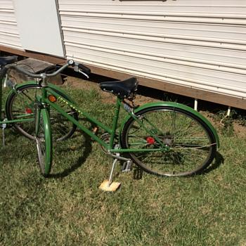 John Deere 3 speed bicycles men's/womens
