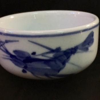 Bule White Small Tea Cup  - Asian