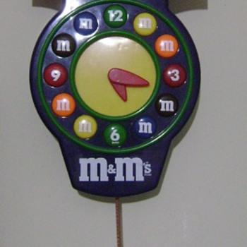 M & M Clock  - Clocks