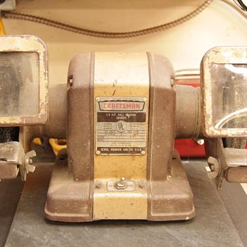 1950/61 VINTAGE CRAFTSMAN  1/4 HP BALL BEARING GRINDER - Tools and Hardware