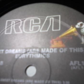 "Eurythmics ""Sweet Dreams"" - Records"