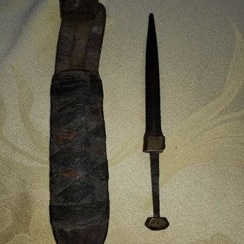 Bayonet MN505 with Gladstone Marble MICH Sheath in Camouflage  - Military and Wartime