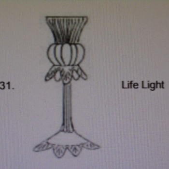 Welz Life Light - Art Glass