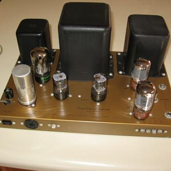 Heathkit Mono Tube Amplifier Model W4 AM