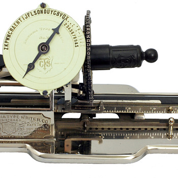 Columbia 2 typewriter