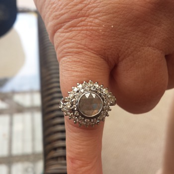 Grandmothers antique Rose cut ring - Fine Jewelry