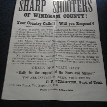 Berdan's Sharpshooters Civil War Poster - Military and Wartime