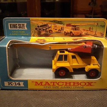 Major Mechanical Marvel Matchbox Monday K-14 Taylor Jumbo Crane 1968-1970 - Model Cars